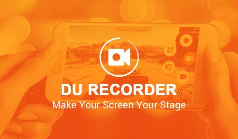 Aplikasi Rekam Layar Ponsel Terkini Du Recorder apk