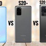 Galaxy S20 Plus vs Galaxy S20 Ultra