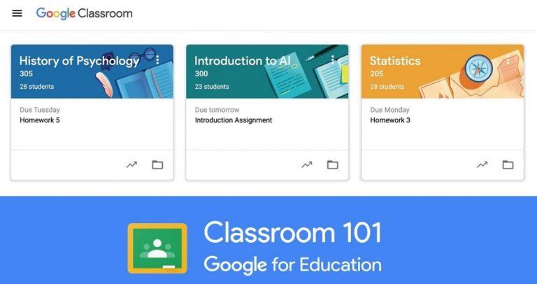 Cara Membuat Kelas di Aplikasi Google Classroom