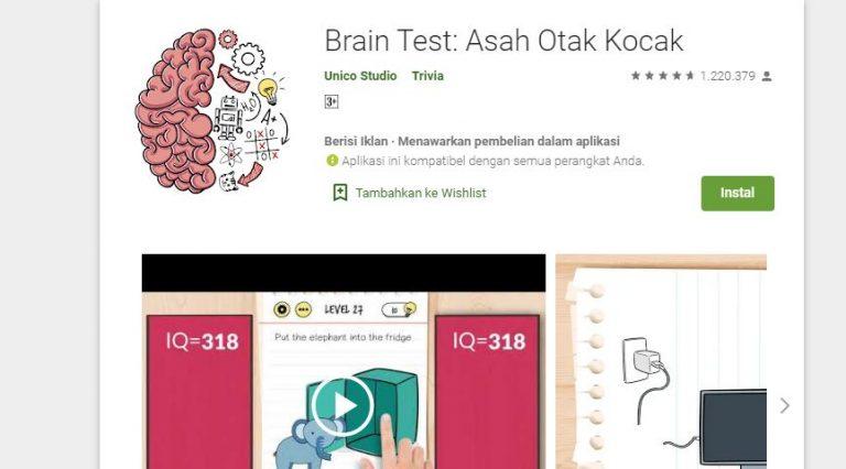 Game Mengasah Otak yang Wajib Dicoba