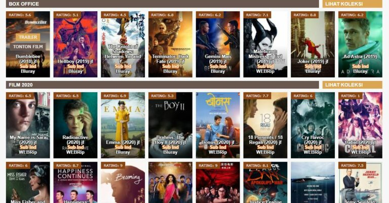 Juraganfilm Situs Streaming Film yang Tetap Eksis