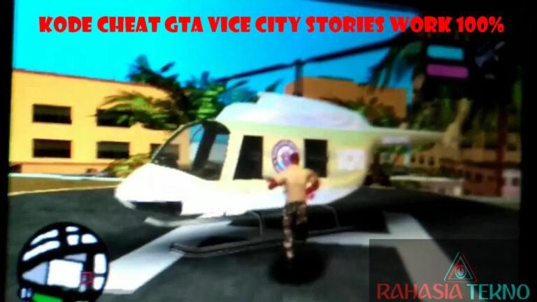 Kode Cheat GTA Vice City PSP Terlengkap