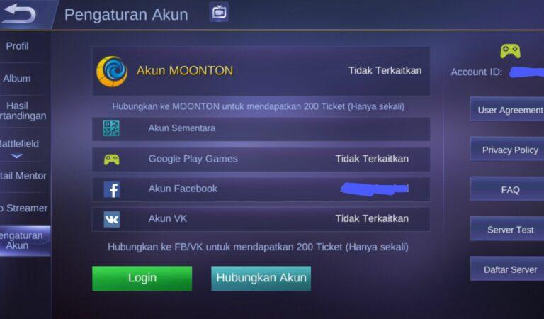 Mengambil Kembali Akun Mobile Legend yang di Hack