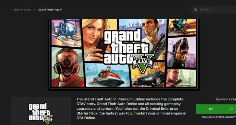 Game GTA 5 Gratis Bisa Diunduh Gratis Hingga 21 Mei