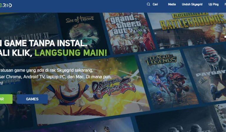 SkyeGrid Aplikasi yang Memudahkan Main Game Berat Tanpa Instal