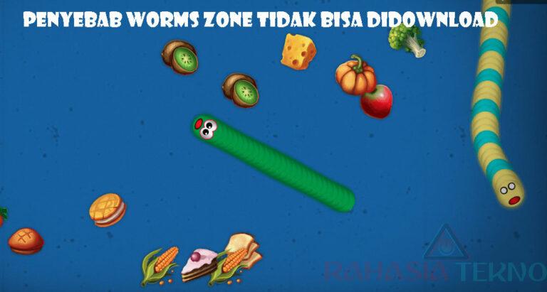 Kenapa Tidak Bisa Mendownload Worms Zone? Berikut Penyebabnya