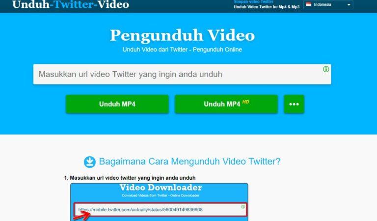 Cara Download Video Dari Twitter Lebih Cepat Tanpa Aplikasi