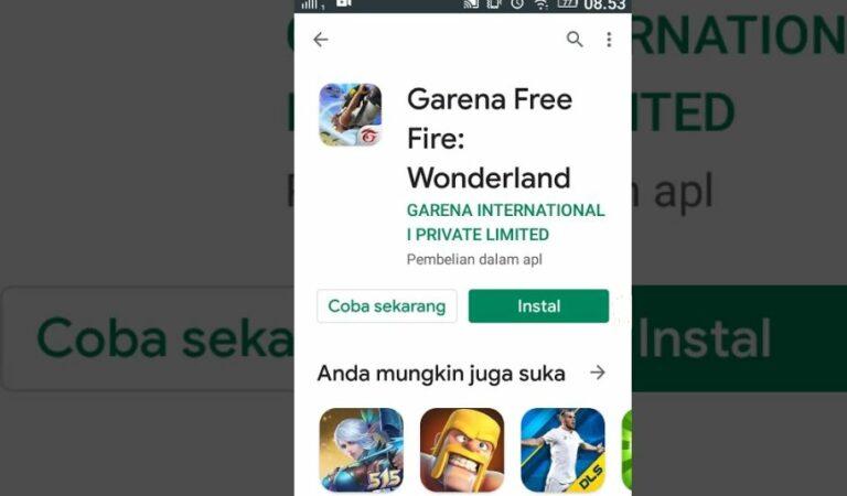 Cara Main Game Free Fire Tanpa Download