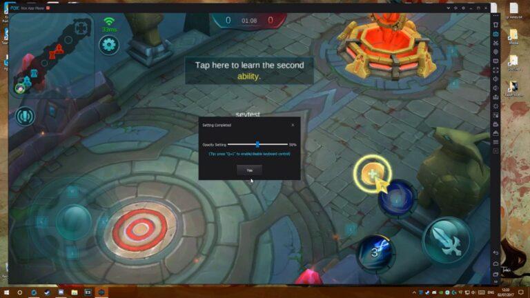 Mobile Legend di Laptop RAM Kecil Menggunakan Emulator Nox Player
