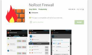 No Root Firewall