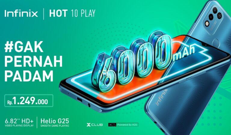 Infinix Hot 10 Play Resmi Diluncurkan, Harga Spesialnya