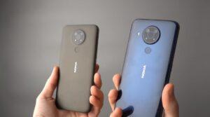 Kamera Nokia 5.4