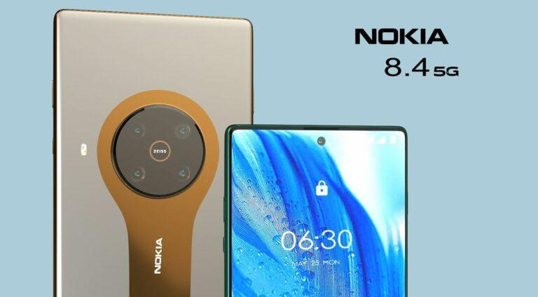 Peluncuran HP Nokia Terbaru Nokia 8.4 5G